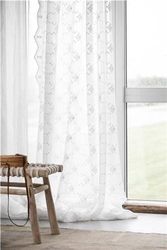 Lene Bjerre Design Rideau - blanc cassé - 250x160cm - Lene Bjerre Design