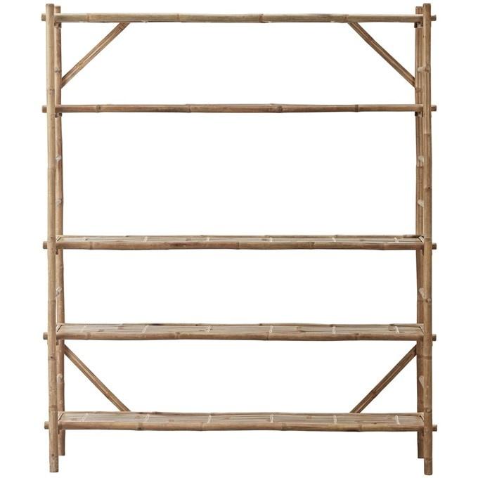 Lene Bjerre Design Estantería de bambú - natural - L155xW40xH190 - Lene Bjerre Design