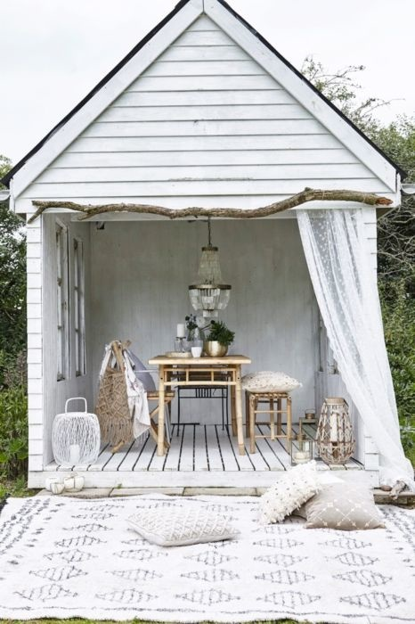 Lene Bjerre Design Mandisa Outdoor Dining Table - 150x80x75cm - Natural Bamboo - Lene Bjerre