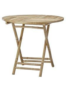 Lene Bjerre Design Table de aire libre - bambú - Naturel - Ø90xH75cm - Lene Bjerre Design