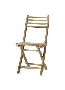 Lene Bjerre Design Chaise pliante de jardin - bambou - L45xW55xH95cm - Lene Bjerre Design