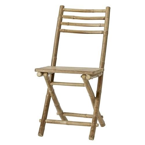 Lene Bjerre Design Silla Plegable de aire libre - bambú - L45xW55xH95cm - Lene Bjerre Design