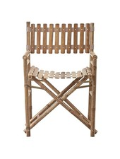 Lene Bjerre Design outdoor bamboo chair - - L45xW55xH95cm - Lene Bjerre Design