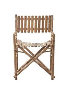 Lene Bjerre Design outdoor bamboo chair - - L45xW55xH95cm - Lene Bjerre Design