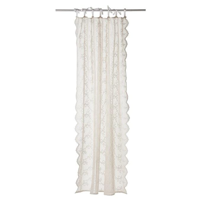 Lene Bjerre Design Adellia curtain - white sands - 250x160cm - Lene Bjerre Design