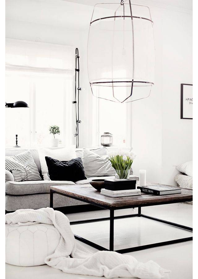 Ay Illuminate Z5 pendant lamp in bamboo and white cotton - Ø 42cm x H57cm - Ay Illuminate