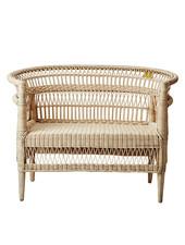 Affari of Sweden Bench/Chair in rattan - 110x70xH80cm - Affari of Sweden