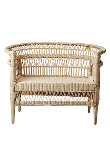 Affari of Sweden Bench/Chair in rattan - 110x70xH80cm - Affari of Sweden