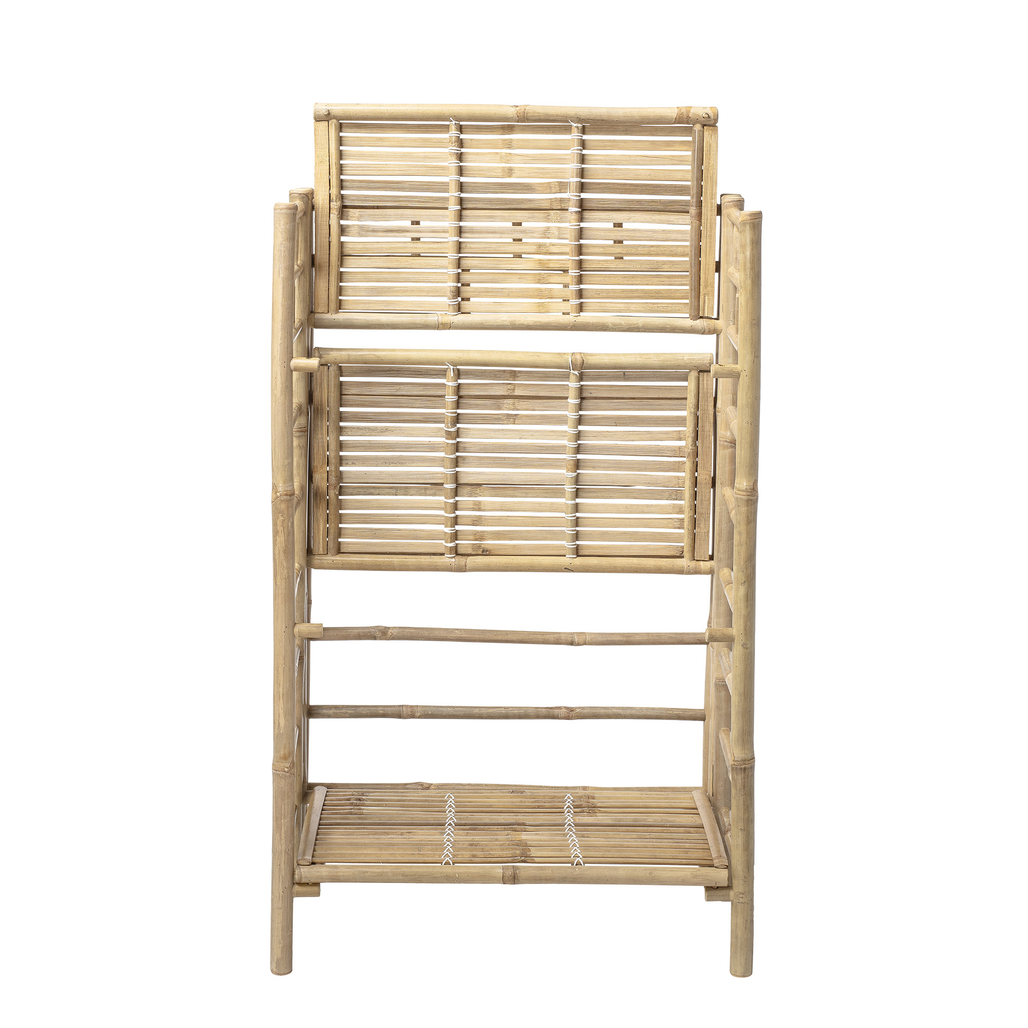 Bloomingville Bookcase - Bamboo - nature - L66xH105xW37cm - Bloomingville