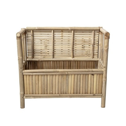 HK Living Bench bamboo - L82xH71xW42 - Bloomingville