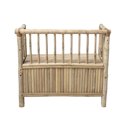 Bloomingville Bench bamboo - L82xH71xW42 - Bloomingville