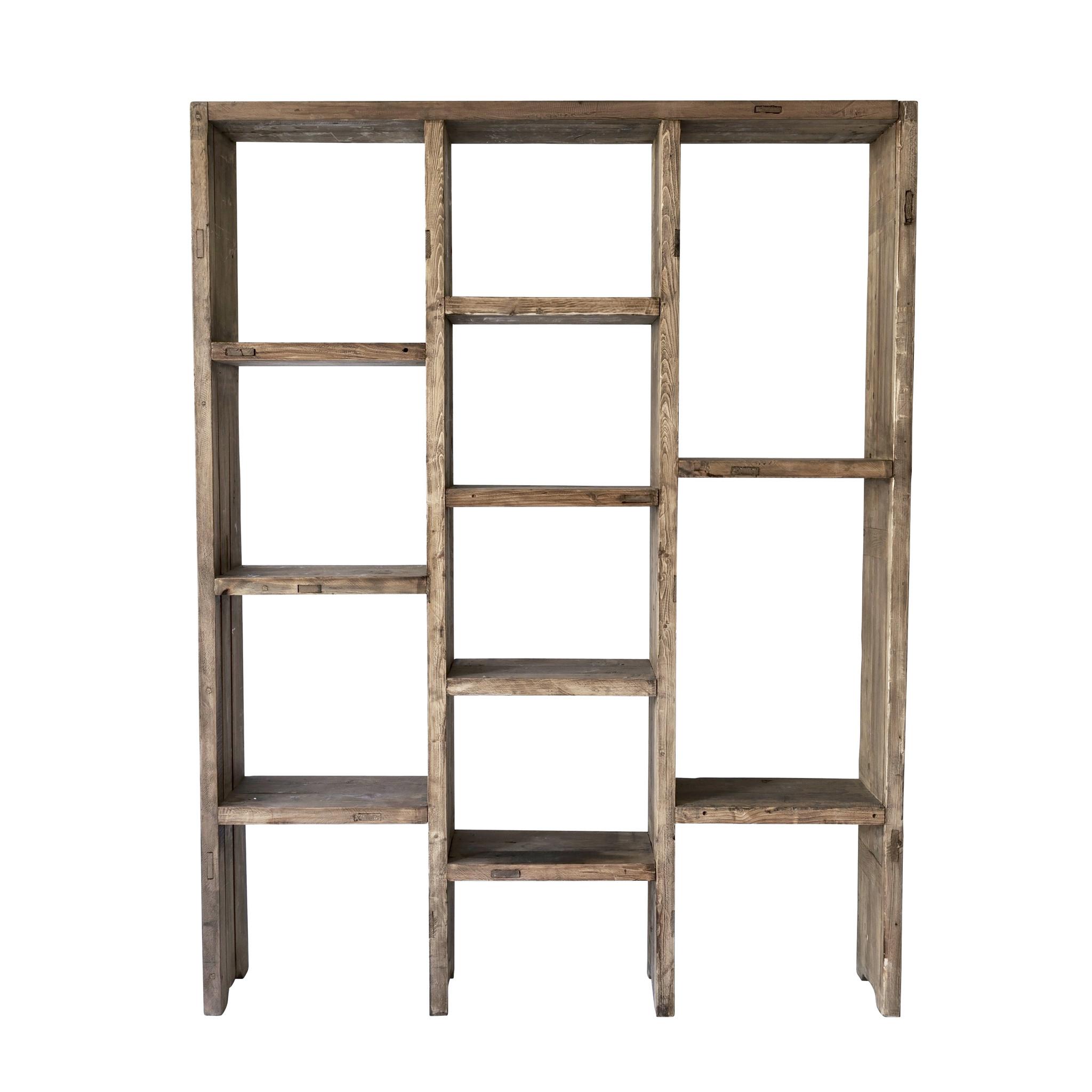 Snowdrops Copenhagen Bookcase / shelving unit in Elm Wood - L150x30WxH200cm - Snowdrops Copenhagen