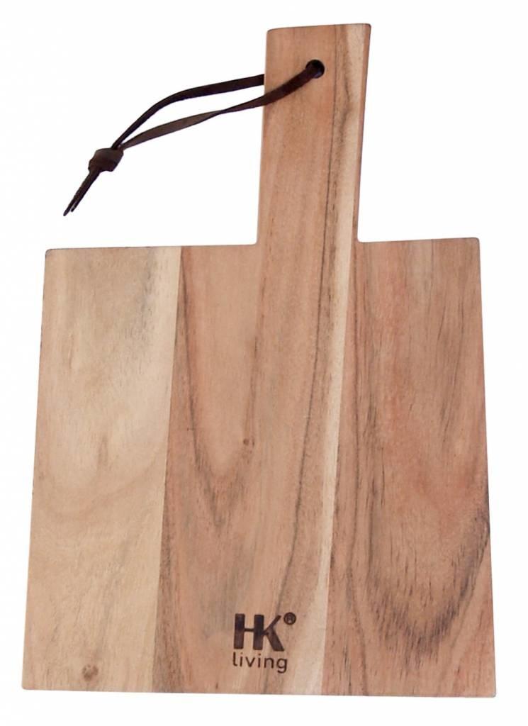 HK Living Planche à découper naturel - 34x23x1,5cm - HK Living