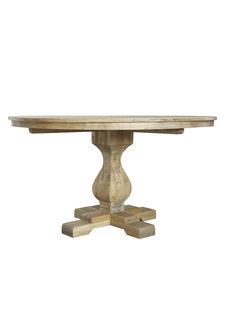 Bloomingville Dinning table recycled elm wood - Ø140cm - Bloomingville
