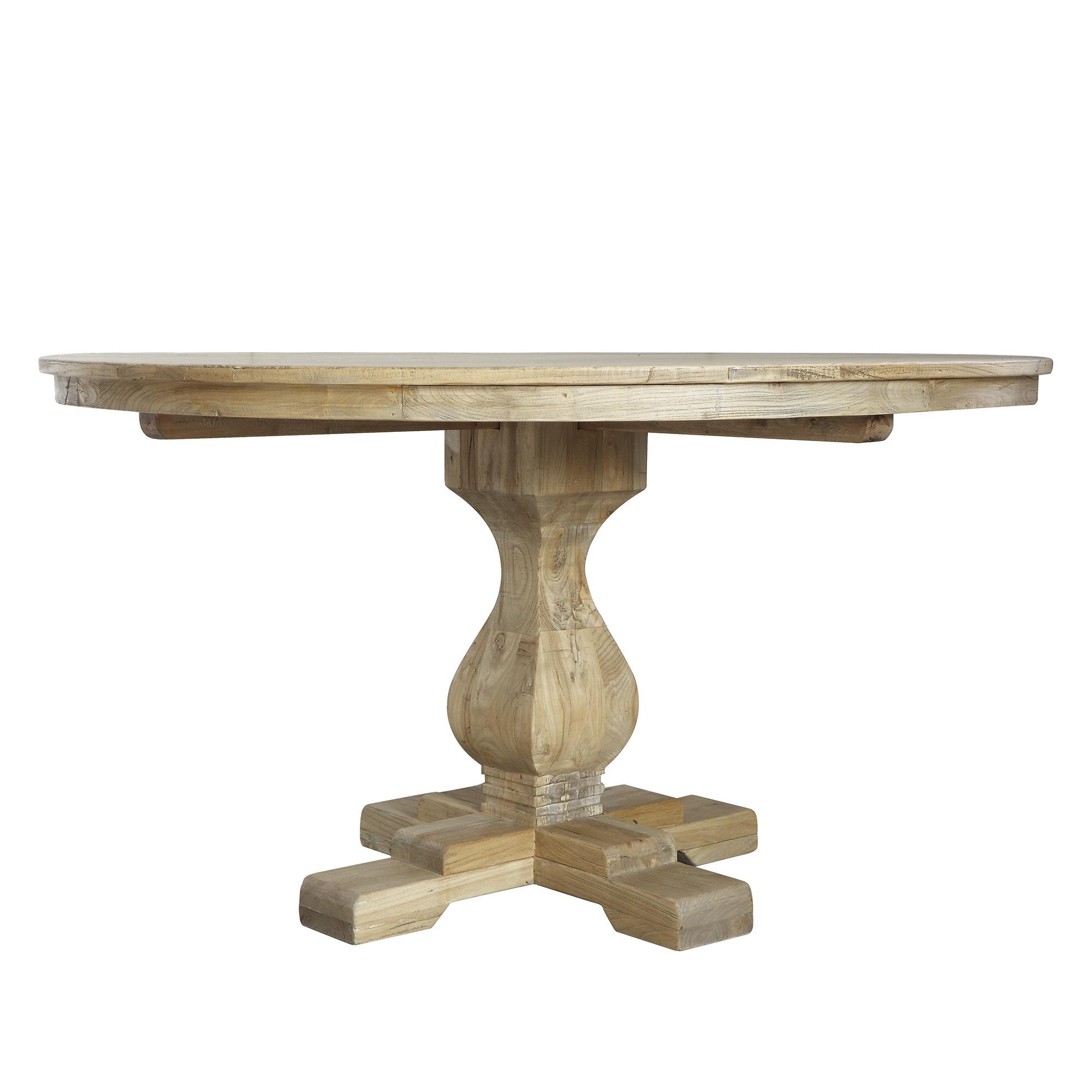 Bloomingville Dinning table recycled elm wood - Ø140cm - Bloomingville