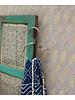Doing Goods Round brass Blossom hanger - gold matt - 15,5x12x1cm - Doing Goods