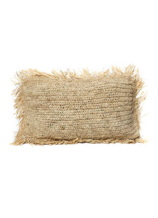 Bazar Bizar Cushion Raffia Natural - 30x50cm