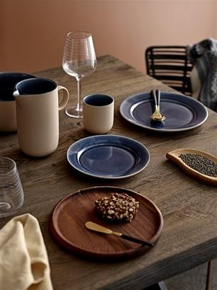 Bloomingville Table de salle à manger - chêne brut et pieds en métal - 200xW99xh78cm - Bloomingville