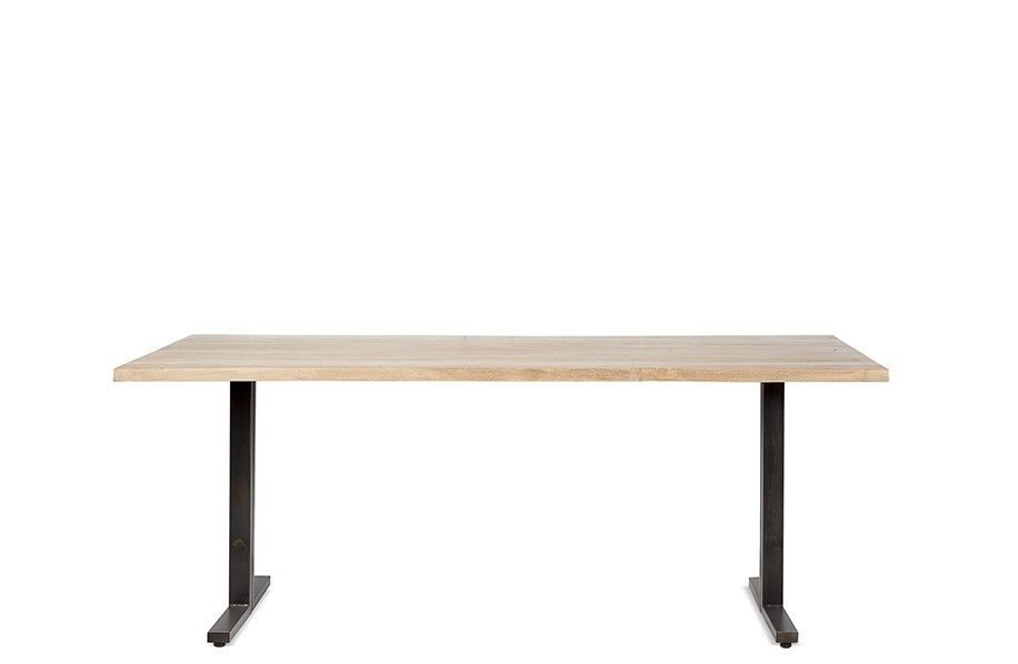 Dareels Dining room table - Teak & Metal - 200xW90xH76cm - Dareels