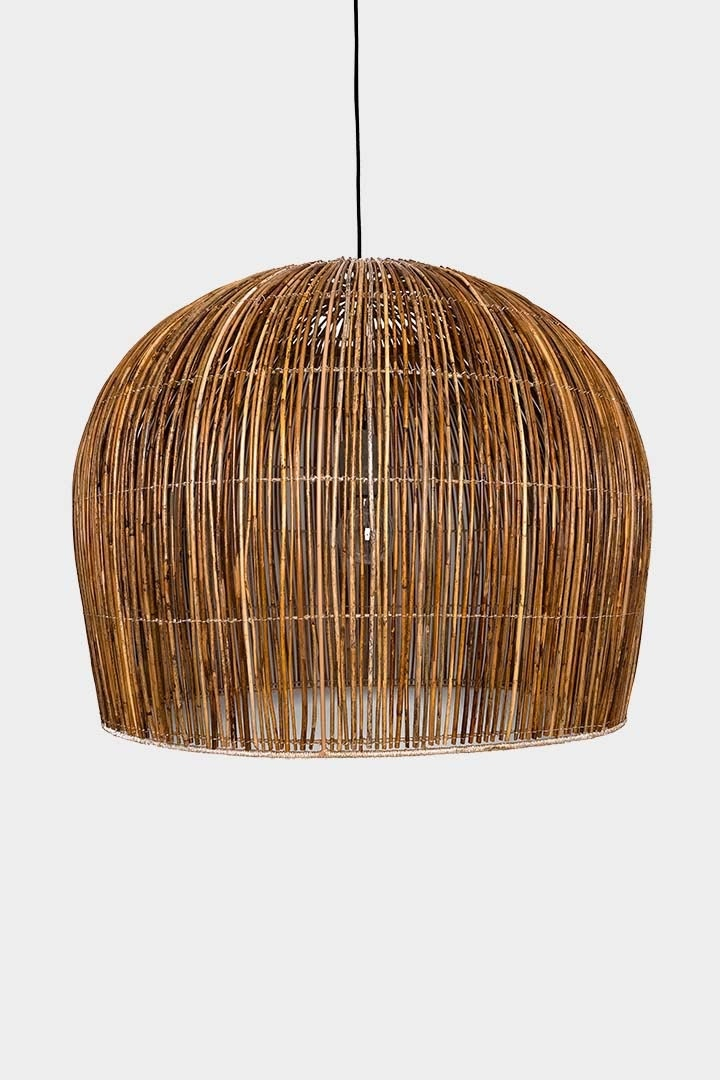 Ay Illuminate Pendant Bell Buri Large - Midrib Palm - Natural - Ø85xh85cm - Ay Illuminate