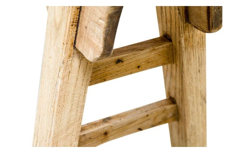 Petite Lily Interiors Bench Raw wood - aprox. 110-125x45-55cm - Unique Product