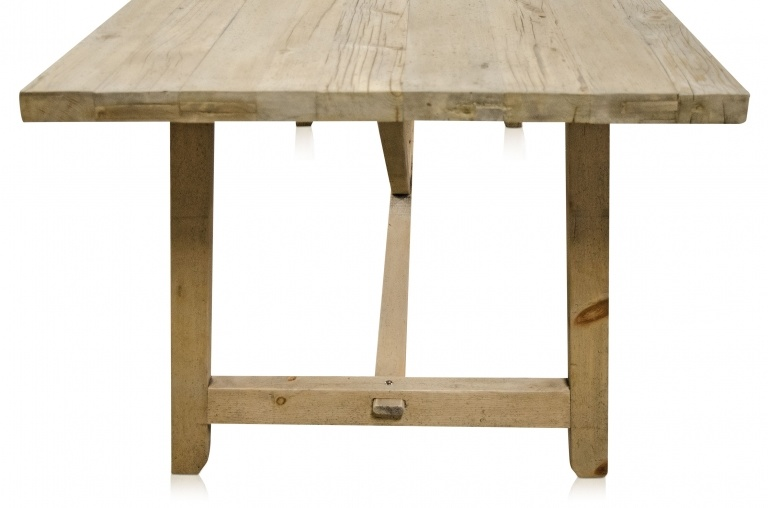 Snowdrops Copenhagen Dining room table recycled wood - 220x85xH76cm - unique piece