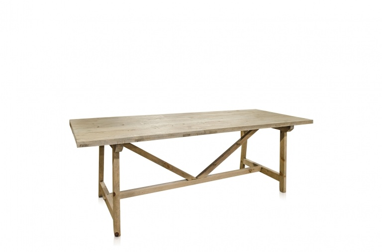 Petite Lily Interiors Dining room table recycled wood - 270x90xH76cm - unique piece