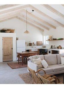 Una casa con de estilo Scandi-Boho - Visto en Pinterest