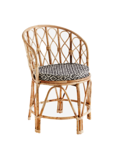 Madam Stoltz Chair  Bamboo - Natural  - D:46x76 cm - Madam Stolz