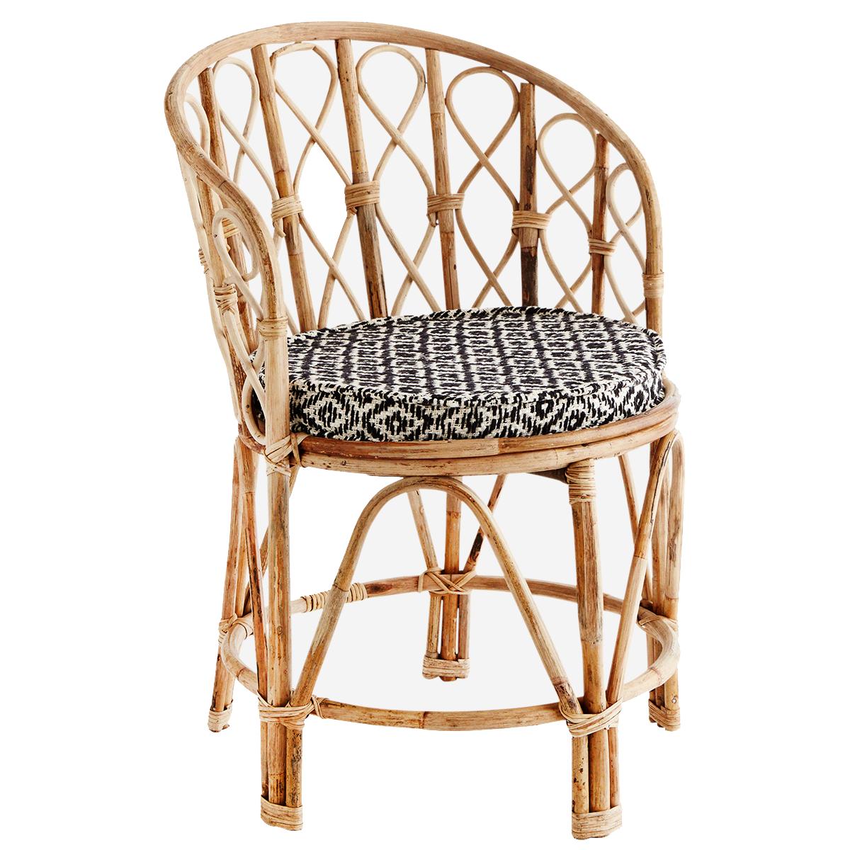 Madam Stoltz Chaise en Bambou - D:46x76 cm -  Naturel - Madam Stolz