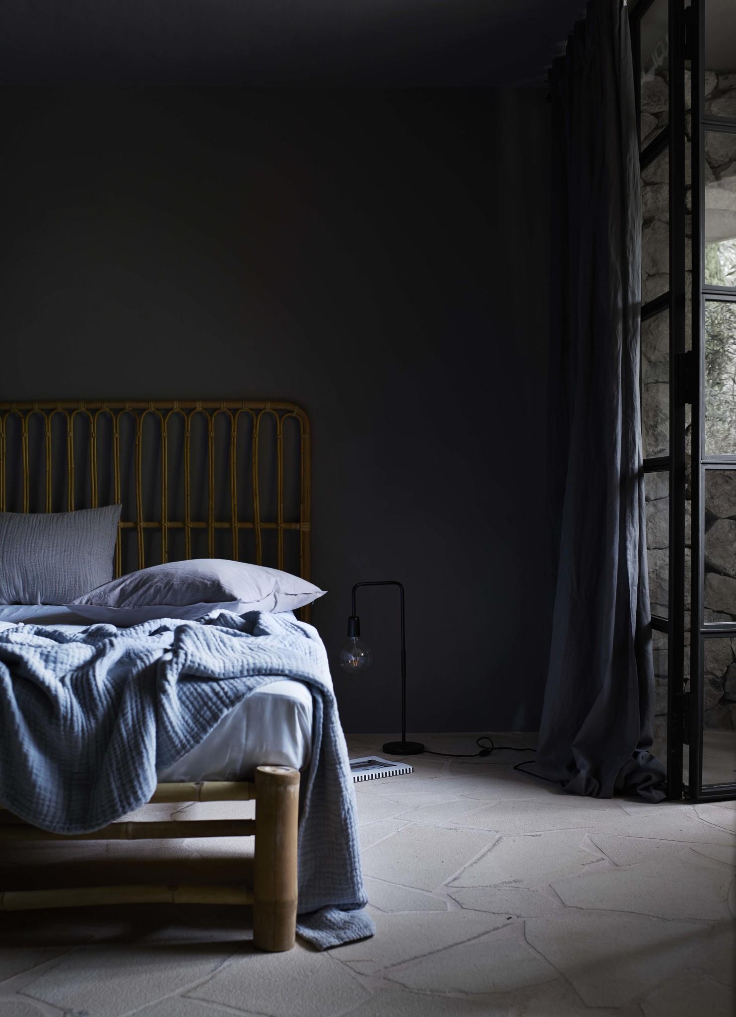 TineKHome tête de lit bohème en Rotin - Naturel - L160xH130 - Tinekhome
