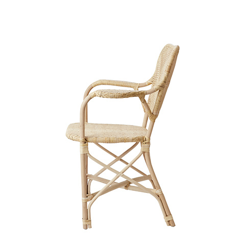 Affari of Sweden Rattan chair RIVIERA - Natural - W62xD58xH90 cm