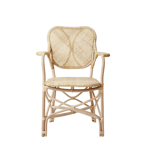 Affari of Sweden Sillón en Ratán Natural RIVIERA - W62xD58xH90 cm