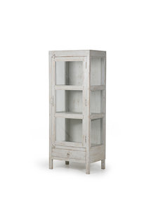 HK Living Small doctors cabinet grey - 58x39xh140cm - HK Living