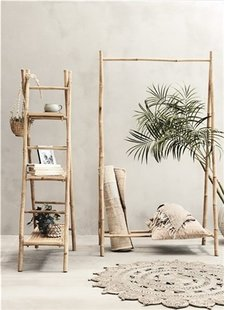 Lene Bjerre Design Portant en bambou - 103x50xH190cm - Lene Bjerre