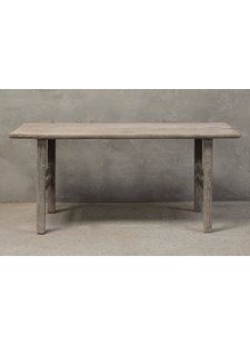 Petite Lily Interiors Dining room table recycled elm wood - 186x67xH84cm - unique piece