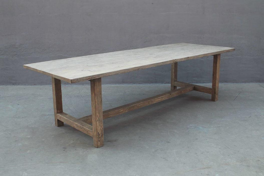 Mesa de Comedor madera de olmo - 268x100xh76 cm - Pieza única