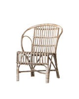 Bloomingville Fauteuil / Chaise Canne - L60xH80xW67cm - Bloomingville