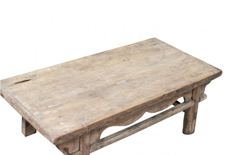 Mesa de salon vintage - Madera de Olmo - 111x53xh38cm