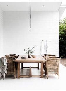 Une décoration extérieur minimaliste de Bayron Bay - vu sur Homes to Love