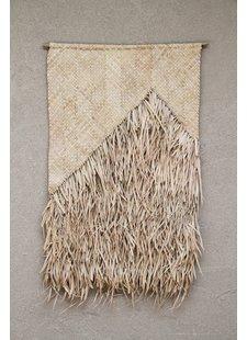 the dharma door  Colgadura de flecos de palma - Natural - 65xh95cm - The dharma door