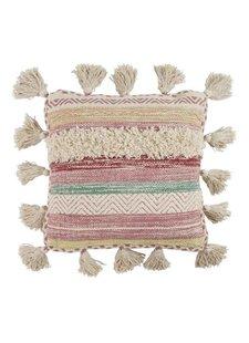 Petite Lily Interiors Coussin en coton - Multicolore - 45x45cm
