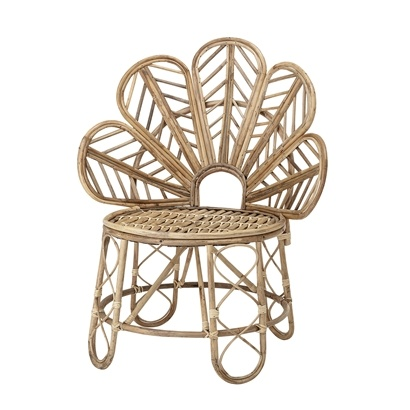 Bloomingville Fauteuil / Chaise Canne - L73xH90xW56cm - Bloomingville