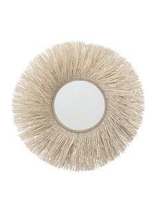 Bloomingville Mirror round cane - Ø95xW15cm - Bloomingville