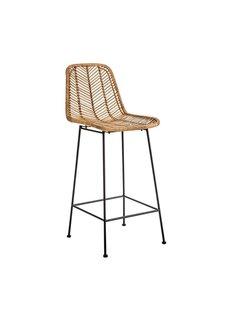Bloomingville Rattan bar stool - Natural - Bloomingville
