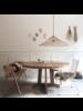 HK Living Wicker Pendant lamp triangle -  Ø80xh26cm - HK Living