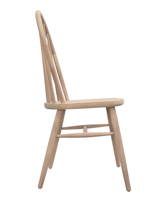 Uniqwa Furniture  Silla 'Amaya' de Teca Cruda - Natural - Uniqwa Furniture