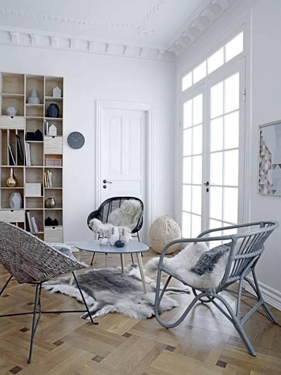 Chaises et Fauteuils Rotin design Scandinave - Petite Lily Interiors