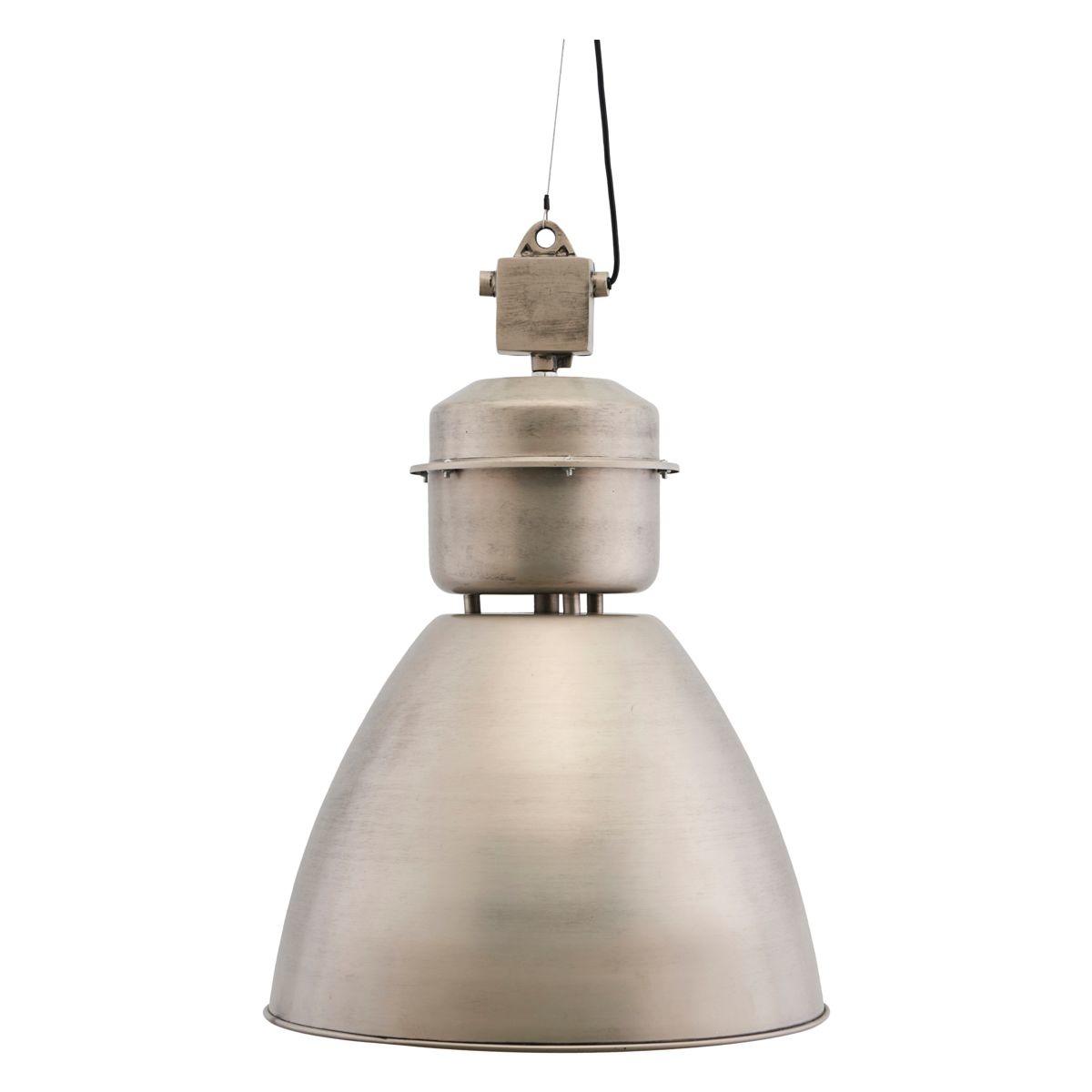 House Doctor Lámpara Industrial de Metal - Estilo Fábrica - Gris - Ø54xh60cm - House Doctor