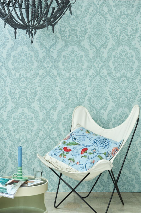 Pip Studio  Wallpaper - Lacy Dutch - Light Green - Pip Studio